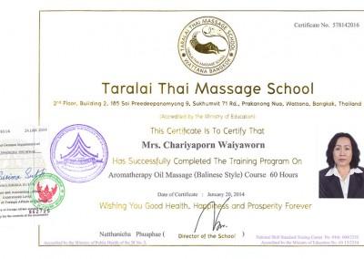 Aromatherapy Oil Massage (Balinese Style)