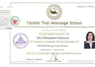 Herbal Ball Massage