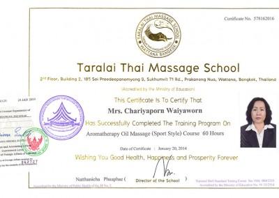 Aromatherapy Oil Massage (Sport Style)